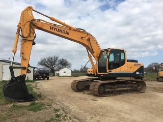 2013 Hyundai Robex 210lc - 9 Excavator photo