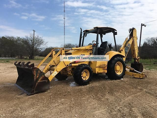 2007 Komatsu Wb140 - 2 Loader Backhoe Backhoe Loaders photo