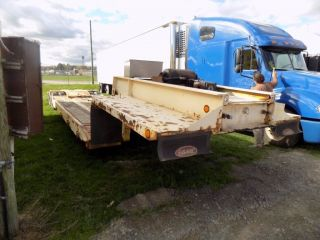 527551980 Rogers 35 Ton Low Bed Trailer 22 ' Deck,  Springs 15