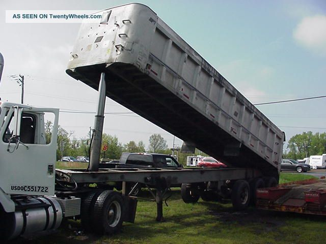 1989 East End Dump Trailer With Lift Axle Trailers photo