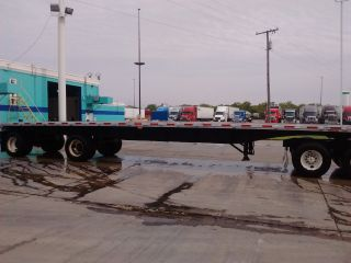 Flatbed Trailer 1998 Dorsey Aluminum Spread Axle 45x102 photo
