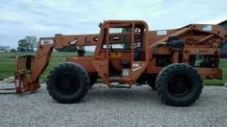Lull 6k - 37 Fork Lift Telescopic Telehandler 6000 Diesel photo