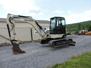 2006 Ingersoll Rand Zx75 Rubber Track Excavator Bobcat 442 Engine Dozer Loader photo