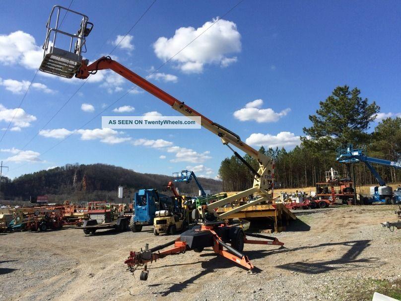 2011 Jlg T350 Tow - Behind Boom Lift 41 ' Work Height Scissor & Boom Lifts photo