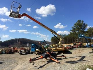 2011 Jlg T350 Tow - Behind Boom Lift 41 ' Work Height photo