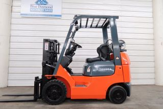 2005 Toyota 7fgcu20,  4,  000 Cushion Tire Forklift,  Sideshift,  Lpg 7fgcu25 photo