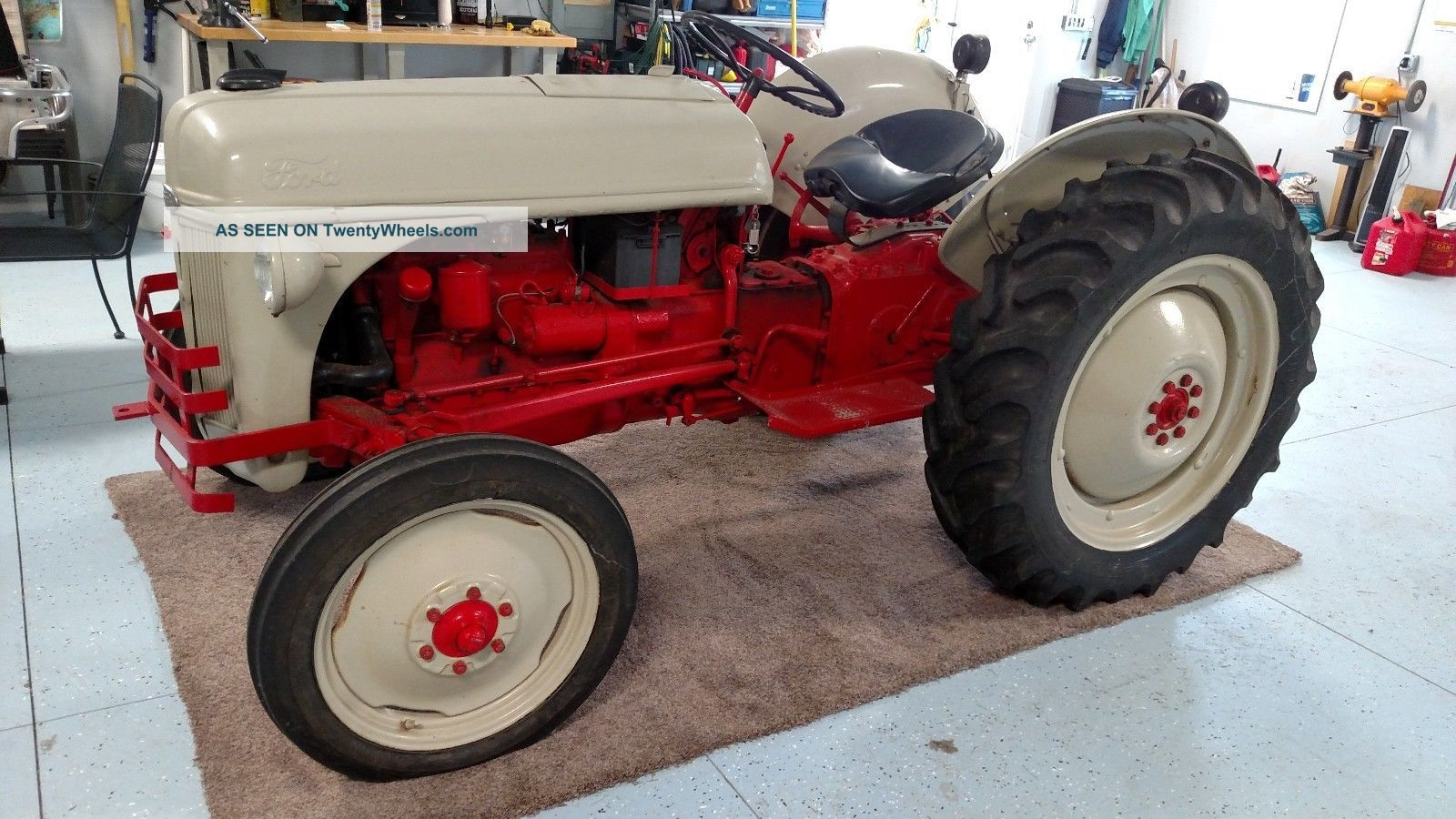 Ford 6n Tractor : N ford tractor
