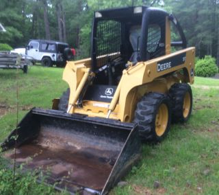 John Deere 317 Skid Steer Loader @@@@@@@@@@@@ photo