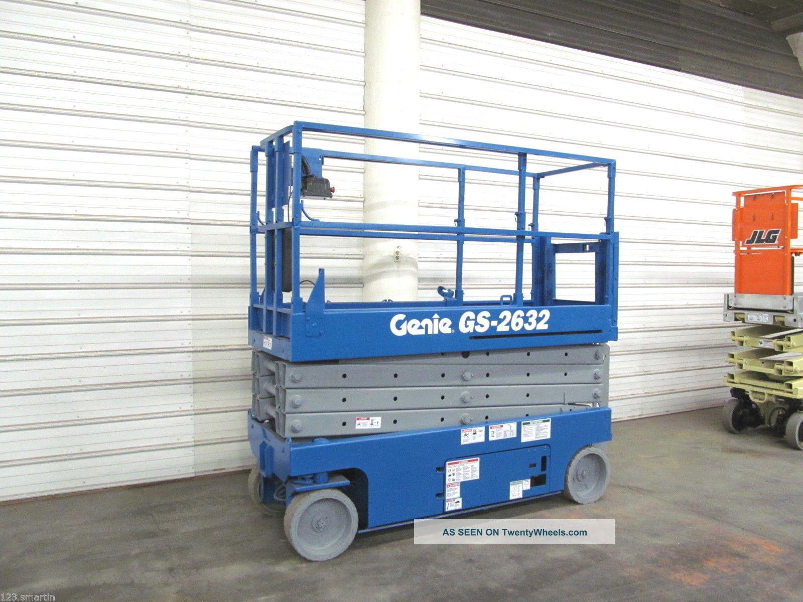 2006 Genie 2632 Scissor Lift,  Boom,  26 ' Lift,  Aerial,  Skyjack,  Jlg 2646es 2630es Scissor & Boom Lifts photo