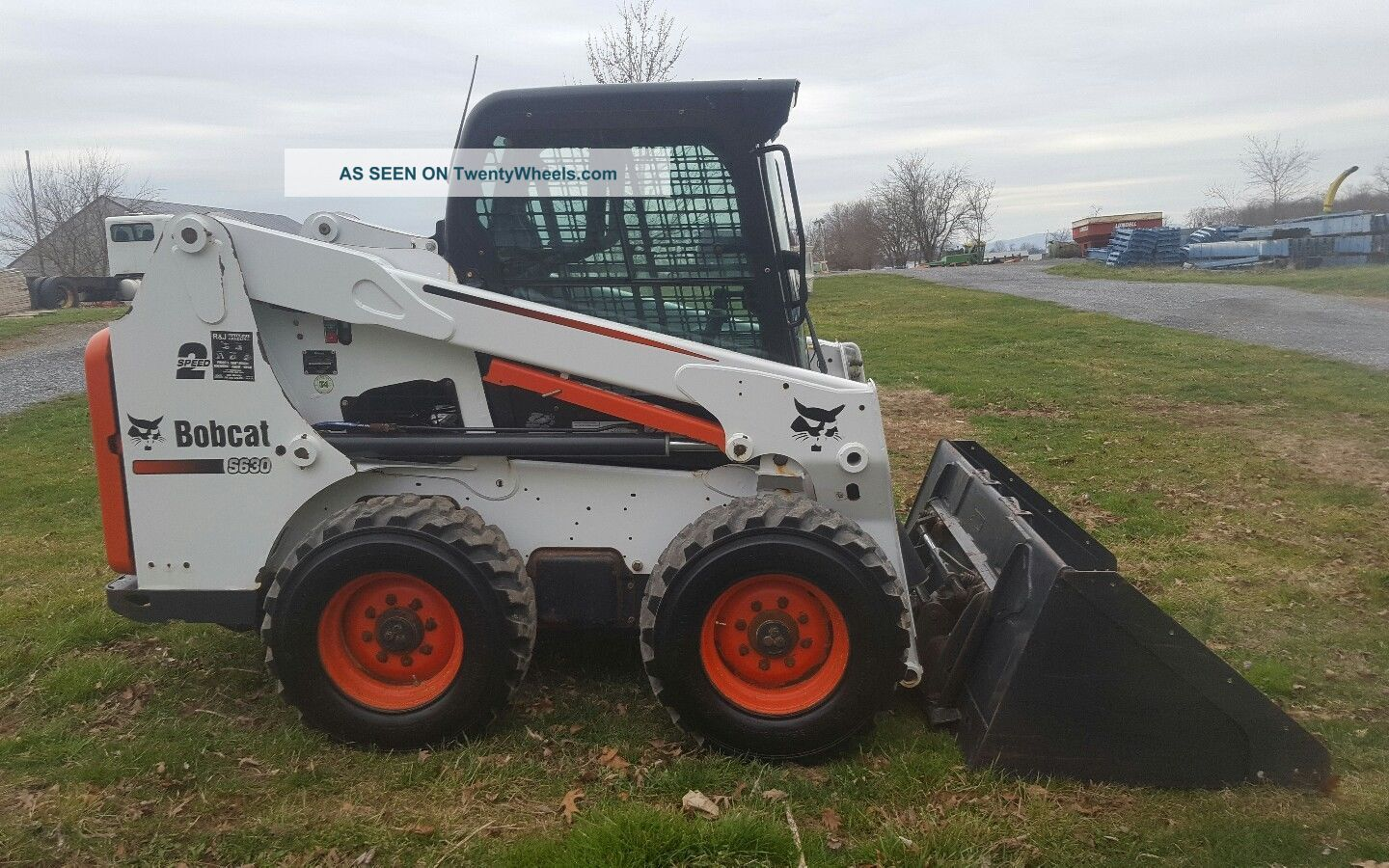 Ford 6n Tractor : Bobcat s skid loader w full cab