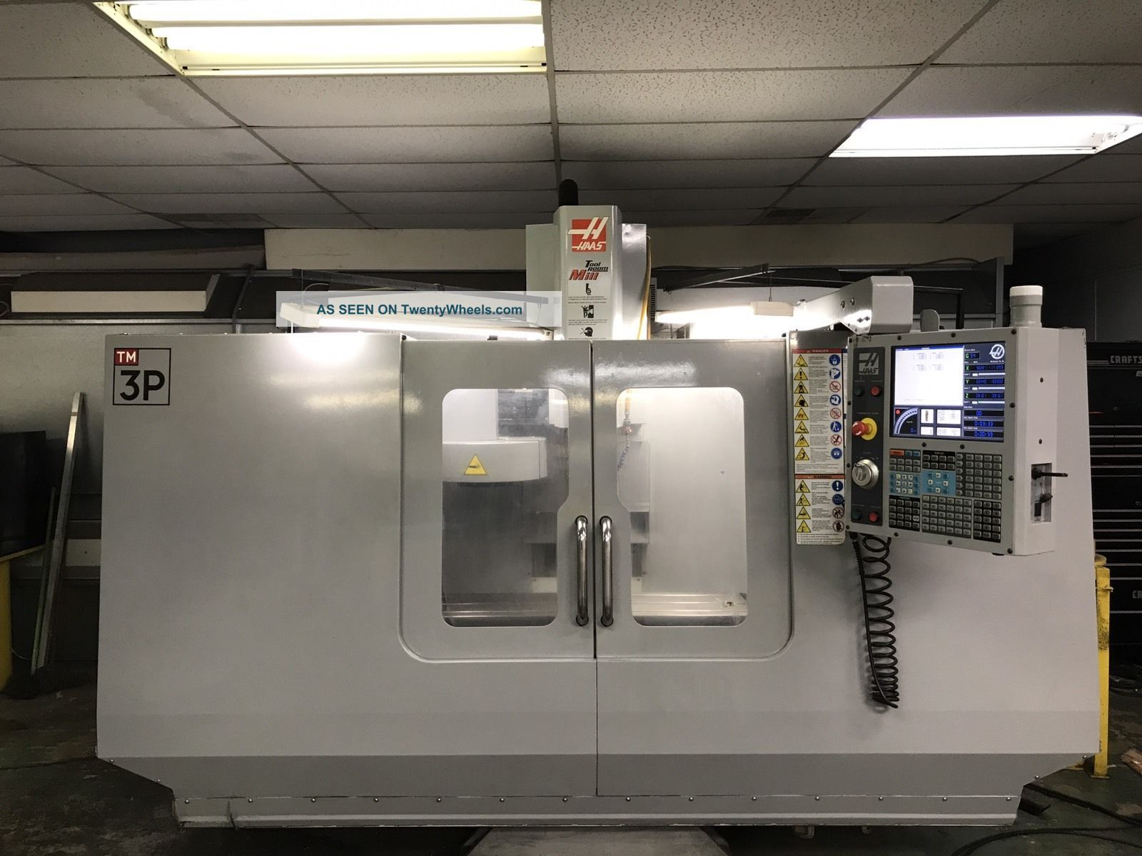 2007 Haas Tm 3p Milling Machines photo