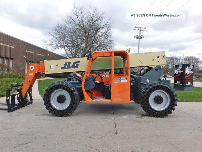 2011 Jlg G9 - 43a 9000lb Pneumatic Telehandler Forklift Diesel Rough Terrain Forklifts photo