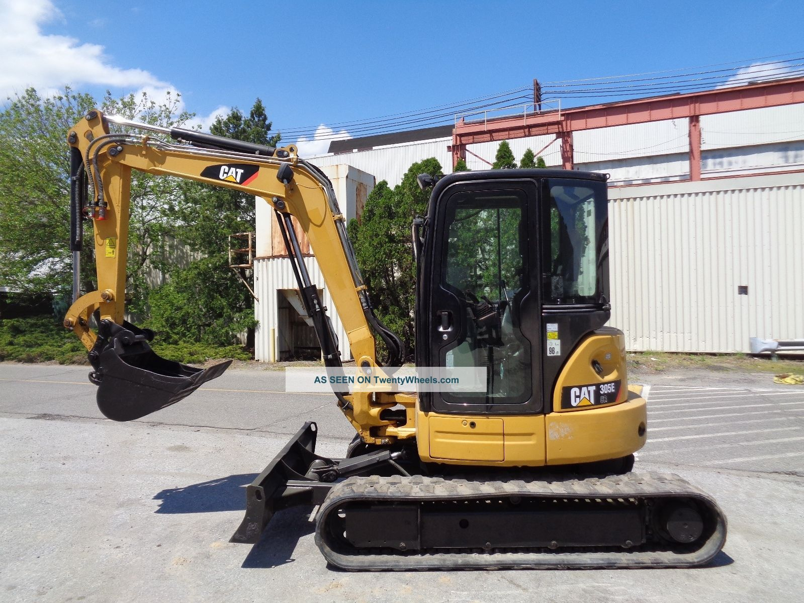 2012 Caterpillar 305ecr Mini Excavator Backhoe Loader - Enclosed Cab - Excavators photo