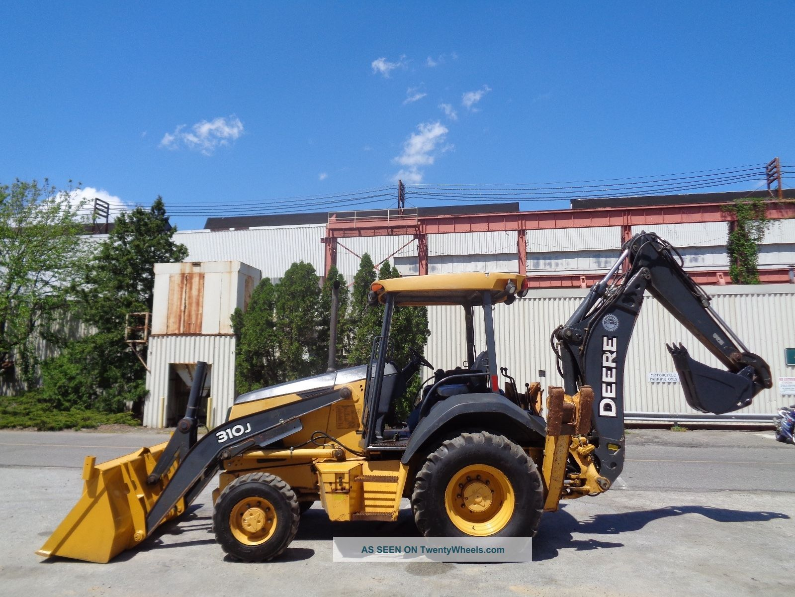 2009 John Deere 310j Loader Backhoe - Auxiliary Hydraulics - 4x4 Backhoe Loaders photo