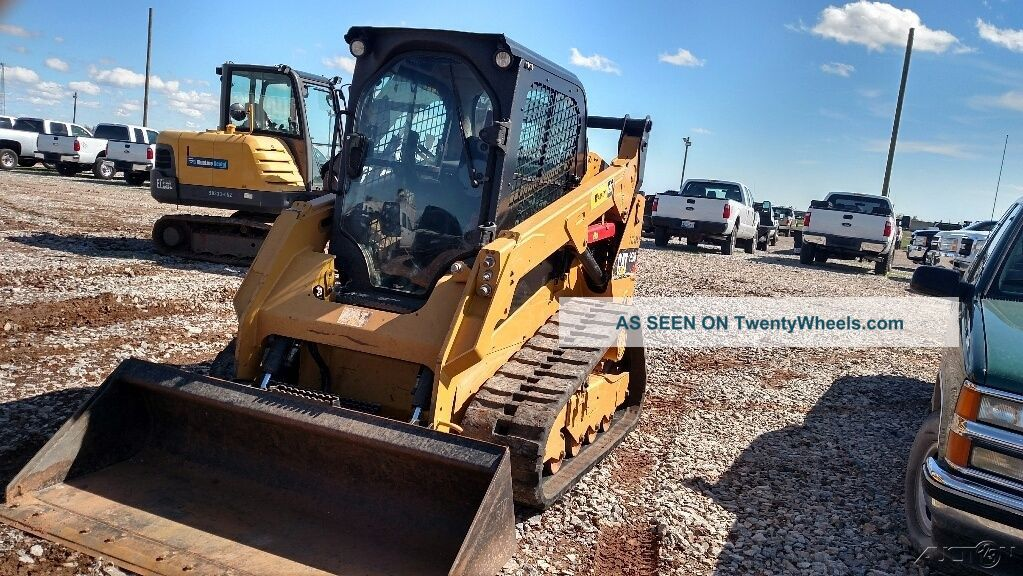 15 Caterpillar 259 D 259d Skid Steer Track Steer Cab A/c Backup Camera Hyd Quic See more 15 Caterpillar 259 D 259d Skid Steer Track Ste... photo