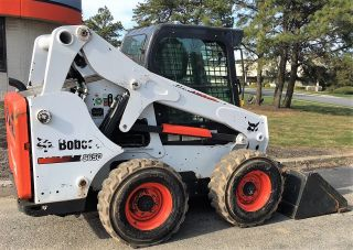 Bobcat S650 Skid Steer Loader Heated Ac Cab Bucket photo