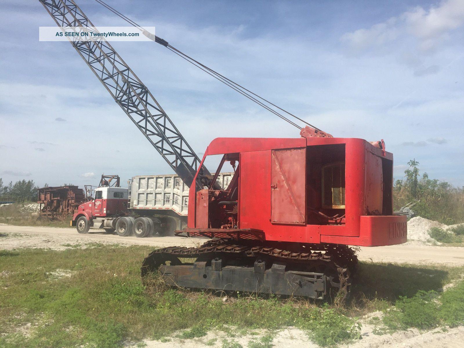 Linkbelt Ls78 Crane Cranes photo