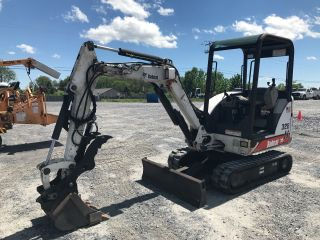2002 Bobcat 328 Mini Excavator W/ Hydraulic Thumb photo