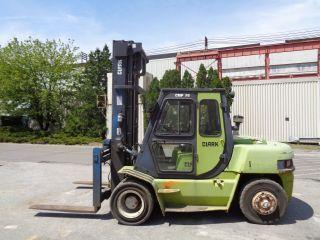 Clark Cmp70 15,  000 Lbs Forklift Boom Truck - Side Shift - Diesel photo