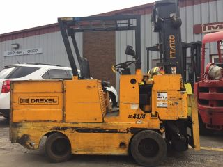Drexel Swingmast Sideloading Sl44/4 4000lb Electric Forklift Lifttruck photo