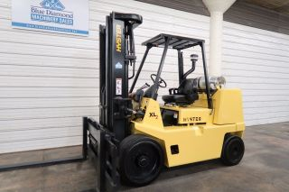 Hyster S155xl2,  15,  500 L.  P.  Cushion Tire Forklift,  Sideshift,  Very Low Hr. photo