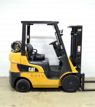 Caterpillar 5000 Lb Lpg Forklift 5,  000 Cat C5000 Late Model photo