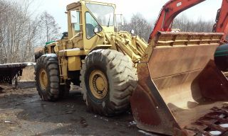 Cat 980 B Wheel Loader With Rebuilt Engine,  Head,  4600 Hours + -,  Vgc photo