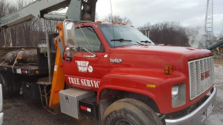 1990 Gmc Topkick 14 Ton Crane Boom Truck Boomtruck,  Jlg photo
