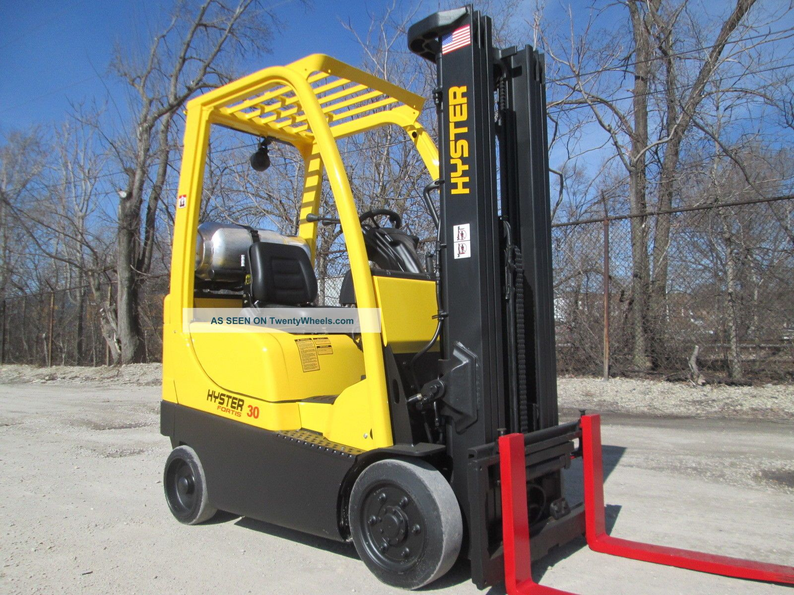 2008 Hyster S30ft Forklift Lift Truck Hilo Fork,  3000lb Capacity,  Cushion Tire Forklifts photo