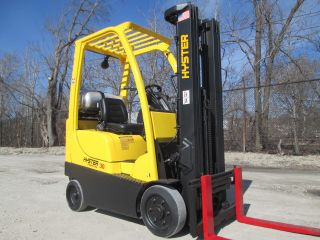 2008 Hyster S30ft Forklift Lift Truck Hilo Fork,  3000lb Capacity,  Cushion Tire photo