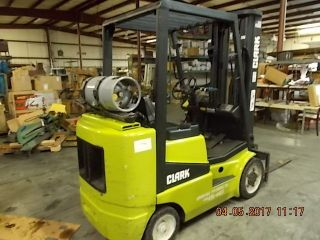 Clark Forklift - 4500 Lb Lift - 3 Tier Height photo