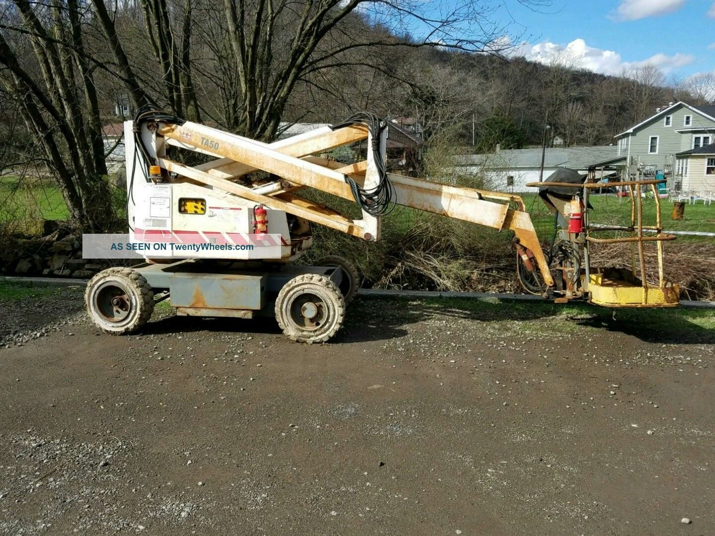 Manlift - 1999 Terex Ta 50 - 48 Volt Scissor & Boom Lifts photo