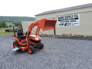2010 Kubota Bx2660 Xtra Power 4x4 Sub Compact Tractor Loader With 60