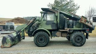2004 Freightliner Flu419 See Unimog Truck / Loader / Backhoe - Street Legal photo
