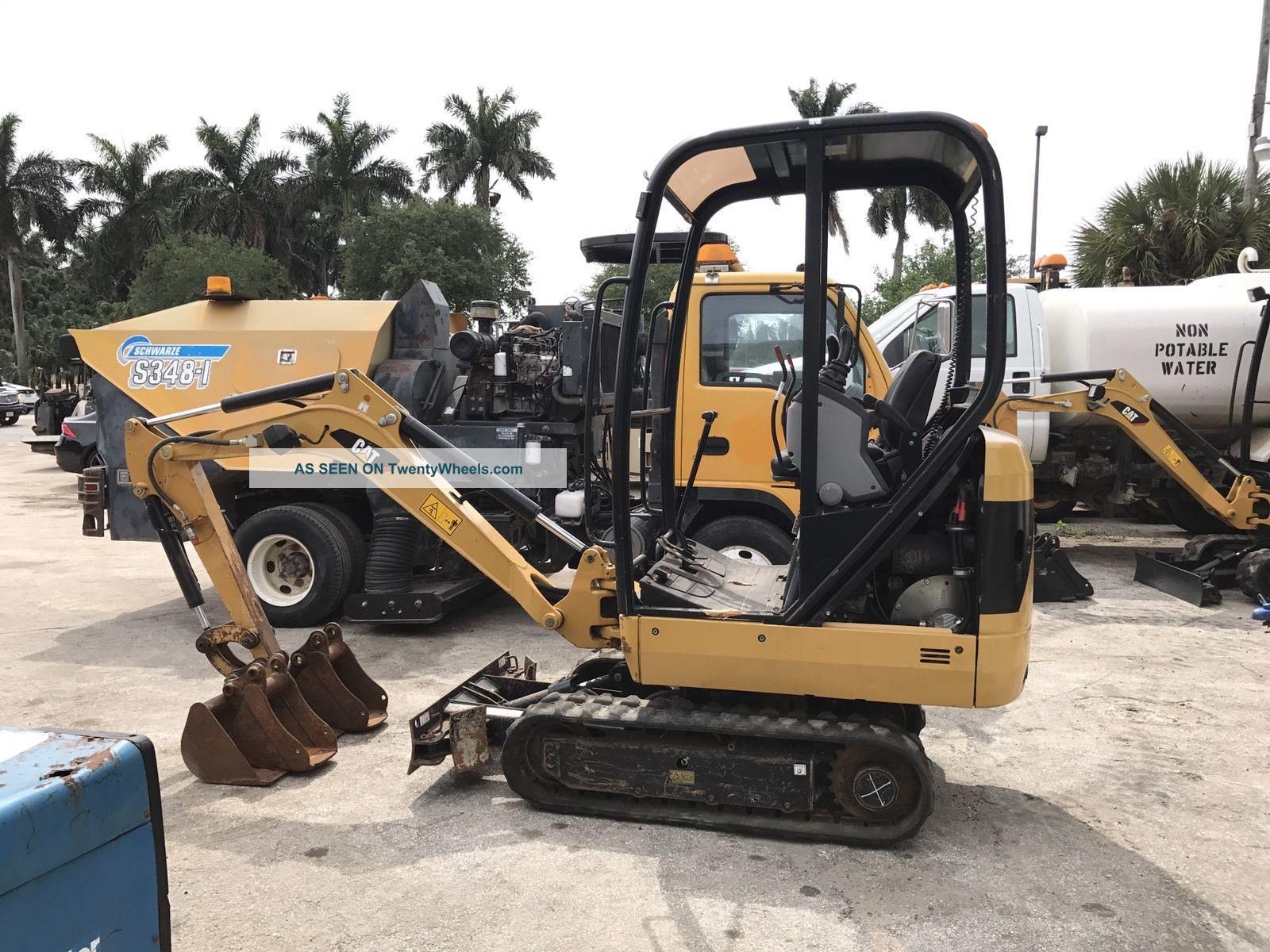 2013 Caterpillar 301.  4c Mini Excavator Excavators photo