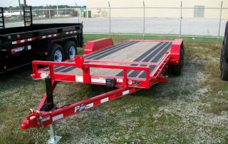 2017 Pj 20 ' Tilt Equipment Trailer - 10,  000 Gvw - Pj Model T5 photo