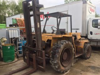 Sellick Sd 80 Forklift photo