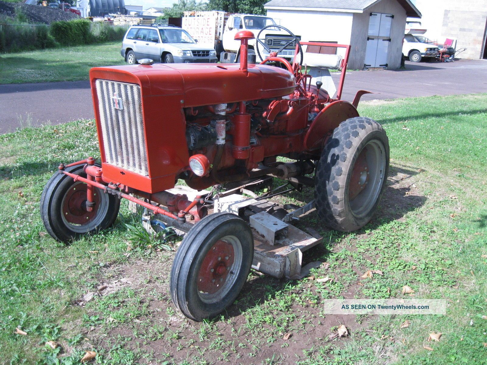 Farmall 140 Tractor : International farmall tractor with woods deck