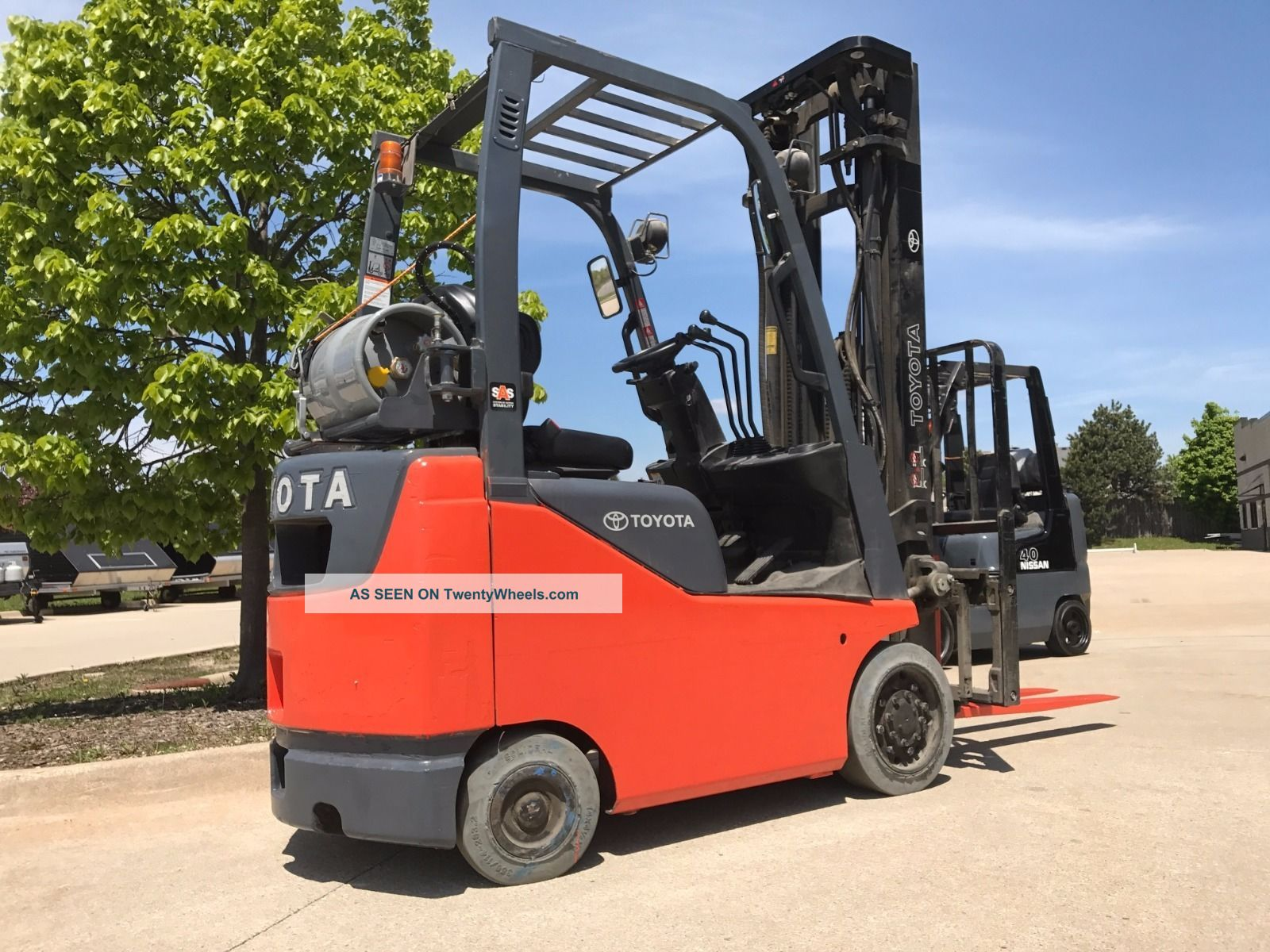 2014 Toyota Lpg/propane Forklift - - We Will Ship Lifts 18 Feet - Save $$ Forklifts photo