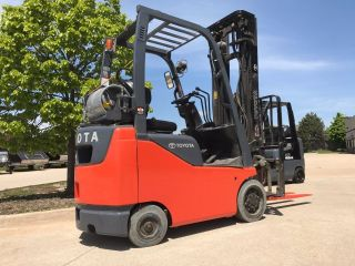2014 Toyota Lpg/propane Forklift - - We Will Ship Lifts 18 Feet - Save $$ photo