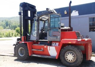 2001 Kalmar 30,  000lb Rough Terrain Forklift photo