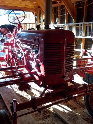 1954 Ih Farmall Tractor - C Serial 195968 photo