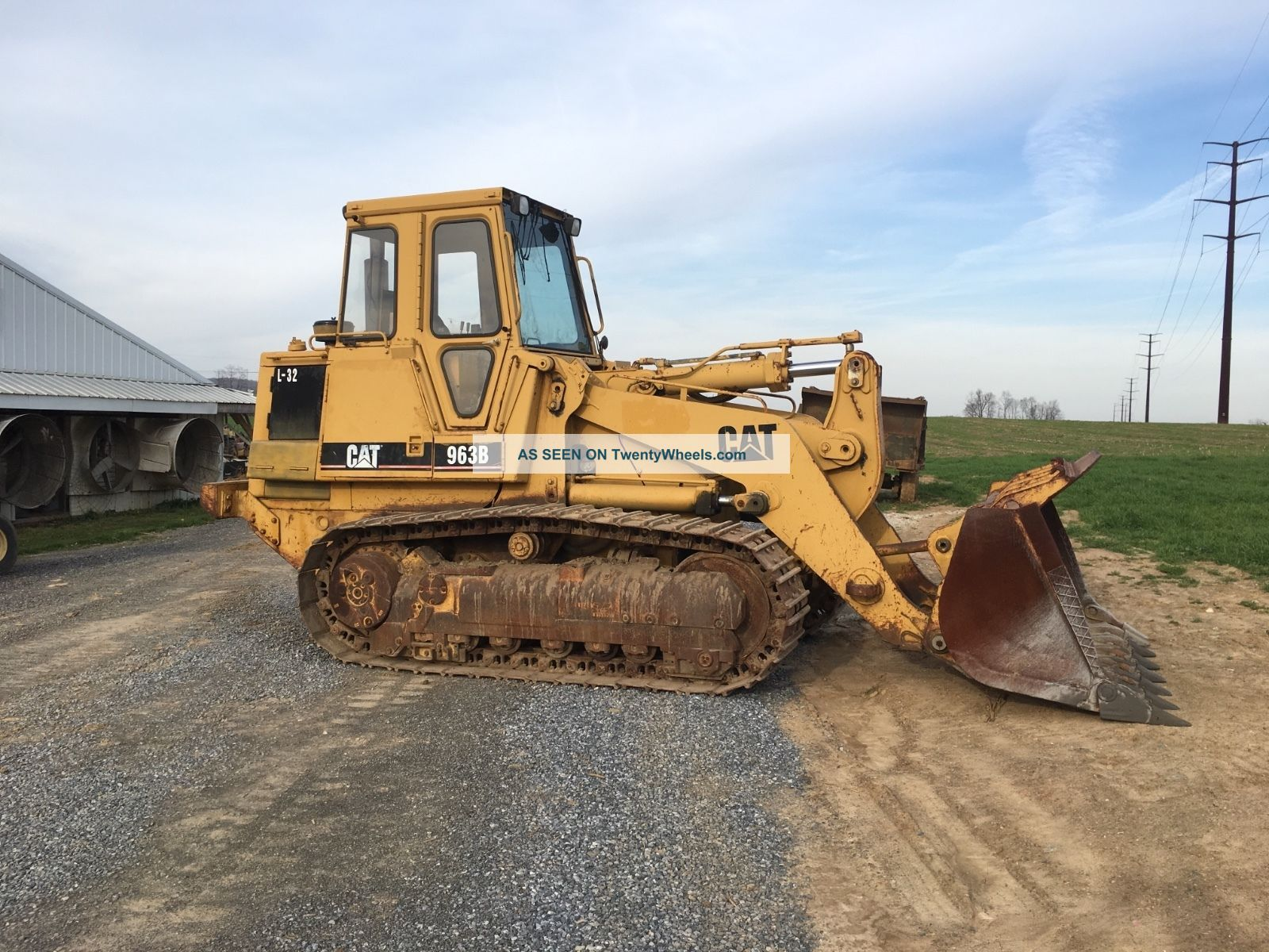 1990 Caterpillar 963 Engine Video Financing Available Crawler Dozers & Loaders photo