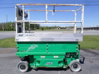 2006 Jlg 2630es 26 ' Electric Slab Scissor Lift Manlift 26ft Platform Lift photo