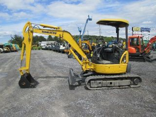 Komatsu Pc30mr - 2 Farm Mini Excavator Tractor Dozer photo