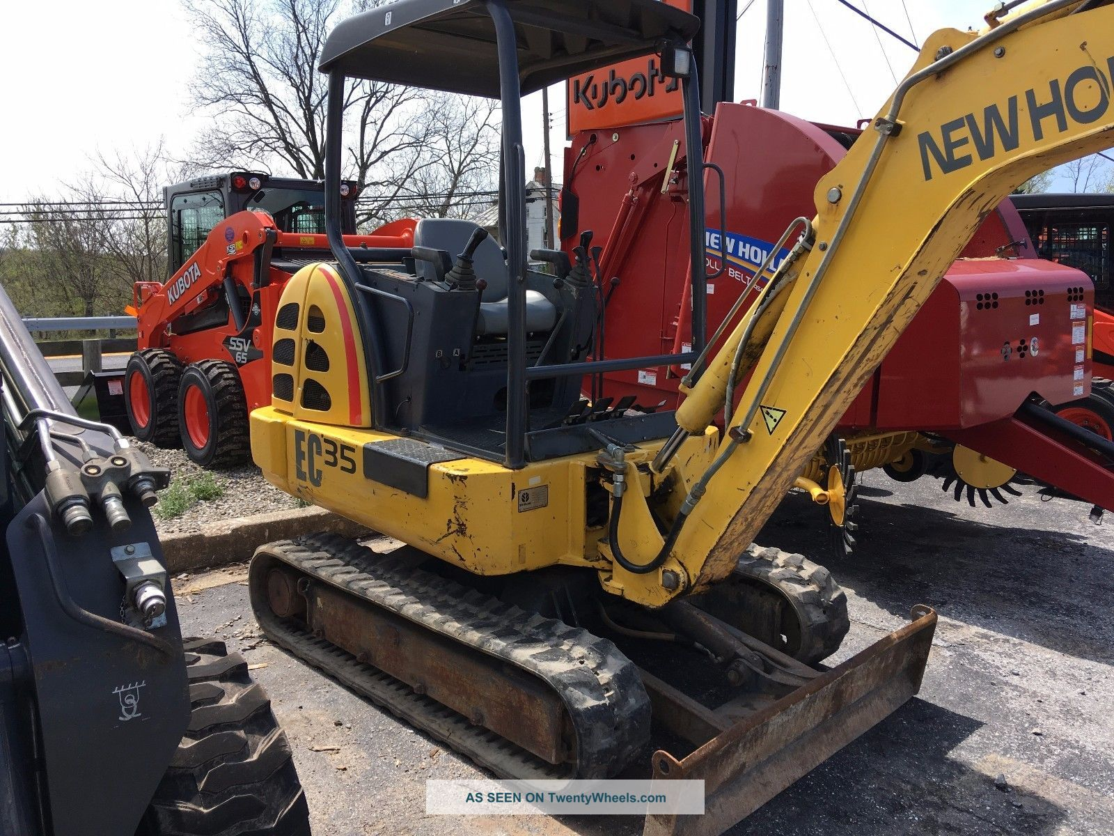 Holland Ec35 Excavators photo