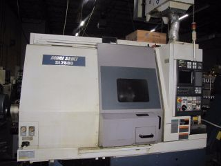 2001 Mori Seiki Sl2500y/650 Cnc Lathe Turning,  Milling Center photo