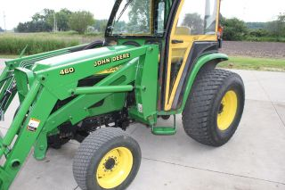 2004 John Deere 4610 4x4 Tractor With 460 Loader photo