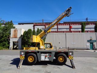 2002 Grove Yb4410 10 Ton Carry Deck Crane - Enclosed Cab - Lmi - Diesel photo