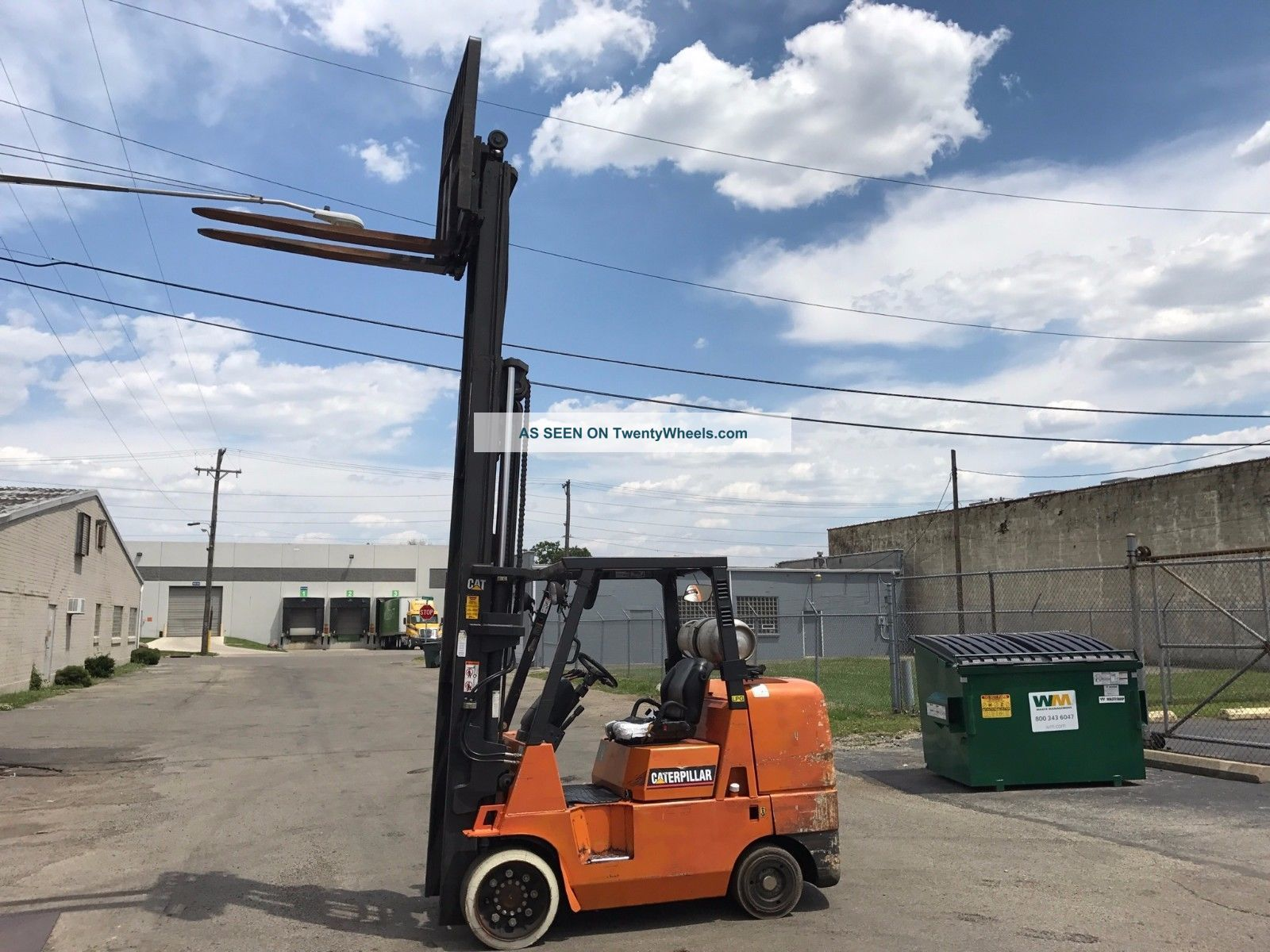 Cat Gc 45ks Forklift Forklifts photo